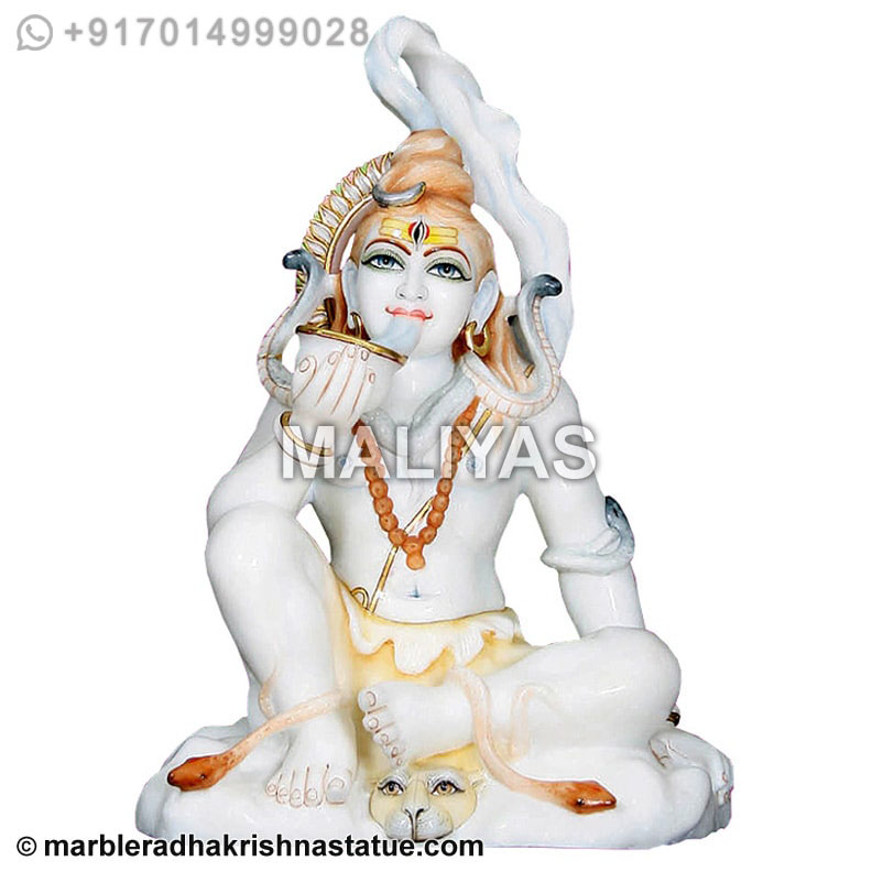 Lord Shiva Murti Shiva Statue With Drinking Poison