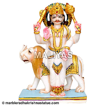 Marble Budh Navagraha Statue