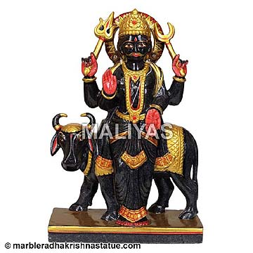 Shani dev Marble Statue Online
