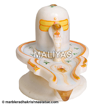white Marble shivling Statue manufacturers