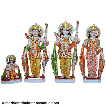 Beautiful Ram Darbar Statue Online