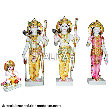 Marble Ram Darbar Moorti Supplier